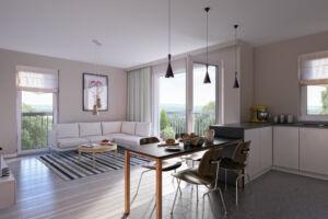 Apartamenty Warszewo wizualizacja standardu na życzenie