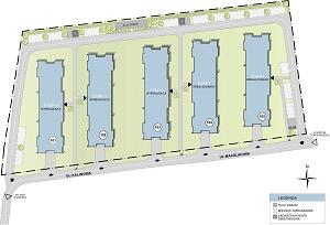 Marina Developera Zagospodarowanie przestrzeni Apartamenty Warszewo